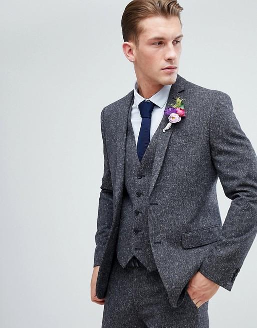 Pourquoi un costume gris anthracite est une bonne option